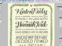 K&H Wedding Invite screenshot