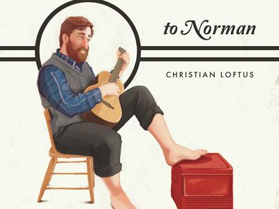 Christian Loftus Album Art norman rockwell music album cover design illustration painting nostalgic