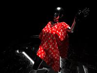 Cloth simulation LV conceptart lv cinema4d 3dart 3d cloth fashion design