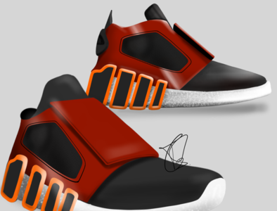 Sneaker Design for a client product designer footwear design shoe design product design 3d designer drawing concept design