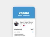 DAILY UI 017 - EMAIL RECEIPT venmo receipt email receipt 017 minimal app design ux ui design ui dailyui