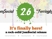 Jomsocial Newsletter March 2012