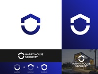Happy House Security - Logo Concept Design