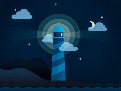 Lighthouse mediocre at best lighthouse illustrator vector illustration