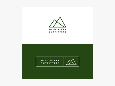 Wild River Outfitters Branding