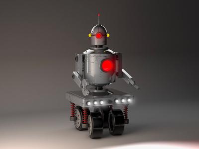 Robot 3d robot c4d cinema 4d