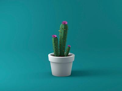 Cactus 3d robot c4d cinema 4d