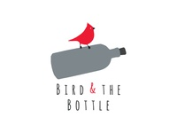 Bird Bottle Logo Design
