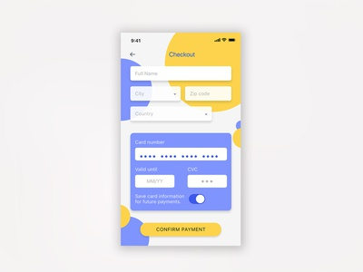 #DailyUI #Day2 app design ui