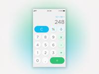 #DailyUI #day4 #calculator