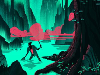 Popshot Magazine Illustration