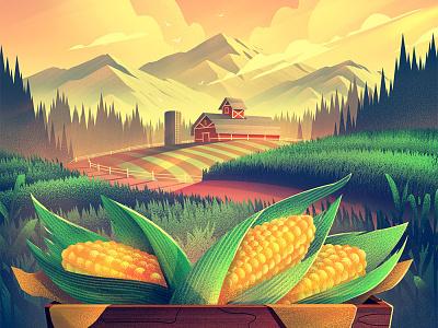Mudbay Label Illustration orlin culture shop packaging labels fresh farm outdoors vintage illustration