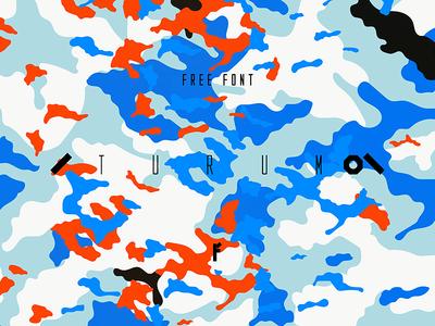 Turum FREE FONT letters typefamily otf freebie typeface military font typography freefont