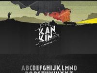 Ka%cc%81nkin%c2%a9 free font
