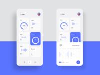 Health Monitoring App UI Concept (UI Practice 03)