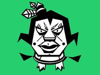 Calabash Brother redesign cartoon graffiti character design branding illustraion graphic design