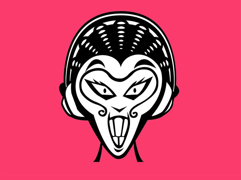 The Monkey King (Sun Wukong) redesign cartoon graffiti character design branding illustraion graphic design