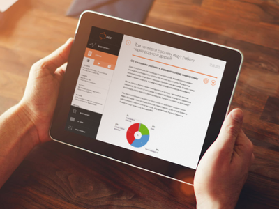 FOM app inhands ipad app