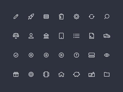 MX Icon Set
