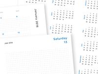 Dot Grid Planner