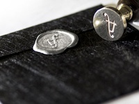 Trip In Fashion - Print Design -  Envelope with sealing wax
