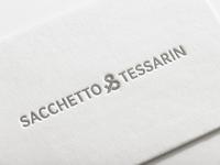 Sacchetto&Tessarin / Logo Design and Branding / Letterpress
