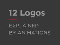 12 Logos Explained by Animations.