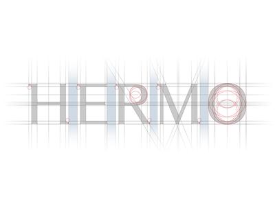 HERMO Shirt Manufacture / Rebrand / Lettering stationery packaging lettering fashion shirt rebrand branding logotype logo