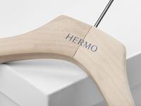 HERMO Shirt Manufacture / Rebrand / Wood Hanger