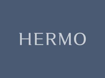 HERMO Shirt Manufacture / Rebrand / Logotype stationery packaging lettering fashion shirt rebrand branding logotype logo