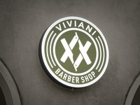 Sign / Viviani Barber Shop