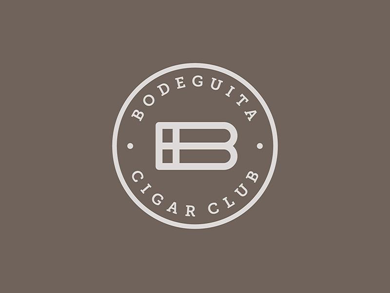 Logo Bodeguita Cigar Club by Concreate Studio on Dribbble