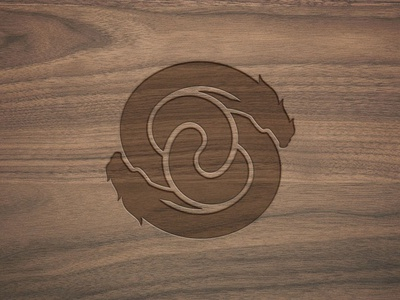 Giuseppe Soncin - Personal Brand - Logo chinese medicine wellness letterpress typedesign body and mind pharmacy massage shiatsu dragon symbol logo design branding