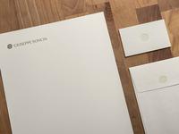 Giuseppe Soncin - Personal Brand - Stationery