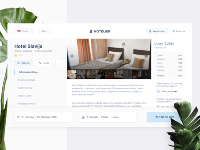 Apartment Page UI