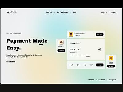 Landing Page — DailyUI Design Challenge 3/∞ landing page ui figma dailyui