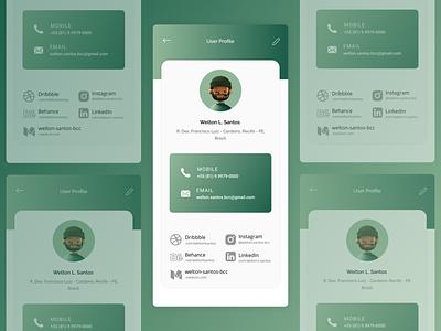 User Profile — DailyUI Design Challenge 6/∞ user porfile ui figma dailyui