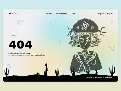 404 — DailyUI Design Challenge 8/∞ 404 ui figma dailyui