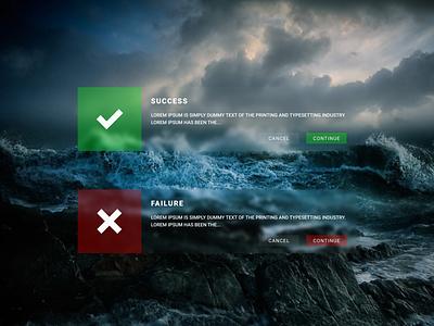 Flash Messages — DailyUI Design Challenge 11/∞ flash messages ui figma dailyui