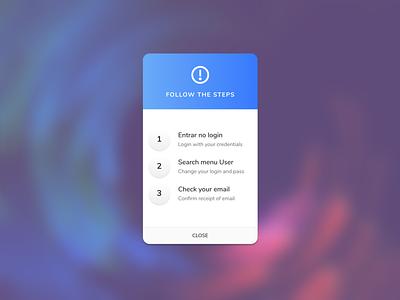 Pop-Up / Overlay — DailyUI Design Challenge 16/∞ overlay pop-up  overlay ui figma dailyui