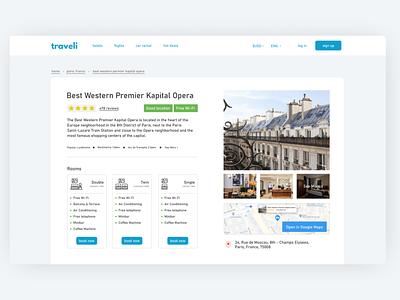 Hotel Profile UI design challenge challenge branding web ui design travel profile hotel profile hotel