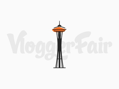 VloggerFair Save the Date save the date vloggerfair space needle