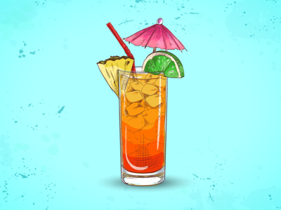 Punch punch illustration drink cocktail