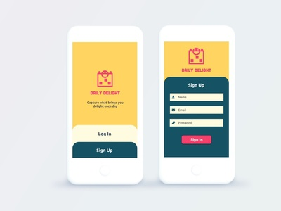 Day 001 Daily UI Challenge: Sign Up