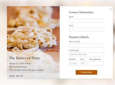 Day 002 Daily UI Challenge: Credit Card Form