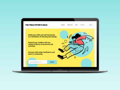 Day 003 Daily UI Challenge: Landing Page