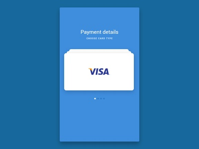 Day 4 - Credit Card Payment Rebound my ux is shit order credit visa payment interface material card shop buy gif after effects