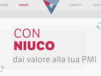 Niuco website - desktop