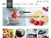 Home page FINGER FOOD