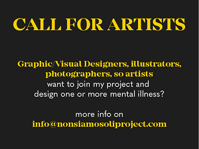 """Call for artists for project """"We are not alone"""""""